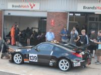 Team Lizard Motorsport on track